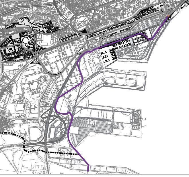 El proyecto original de 2010 no contemplaba cruzar el Edificio Castilla.