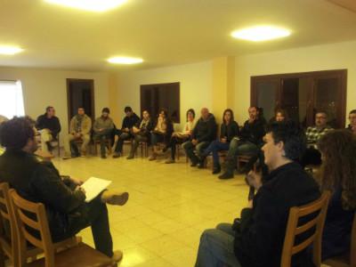 En la reunión han acordado la denominación y el ámbito de actuación, y han aprobado los estatutos del nuevo partido.