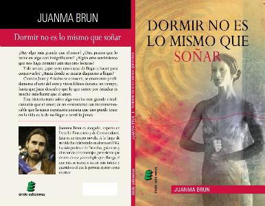 Cubierta del nuevo libro de Juanma Brun.