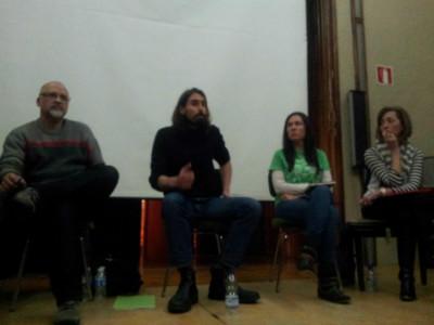 Roberto Mazorra, Juanma Brun, Mariasun Arenado y Ángela Benito, los cuatro apartados de las primarias de Podemos.