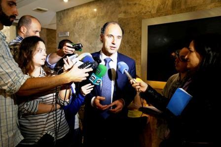 Ignacio Diego comunica la rectificación de la rectificación con el Alvia