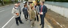 Obras del proyecto Green Road en Santander