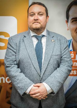 Rubén Gómez, de 31 años, tiene todas las papeletas para convertirse en el candidato de Ciudadanos al Parlamento.