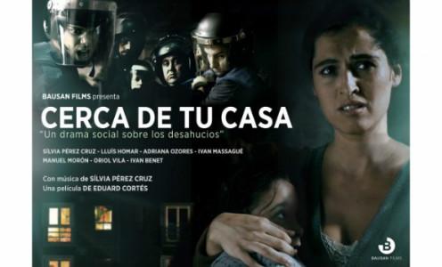 Cartel de la película 'Cerca de tu casa'.