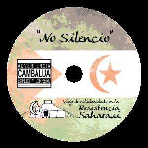 Ejemplo de los discos editados para acabar con el silencio sobre el sufrimiento saharaui.