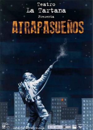 'Los Atrapasueños', de La Tartana Teatro. El sábado a las 18:00 horas, y el domingo a las 12:00 horas.