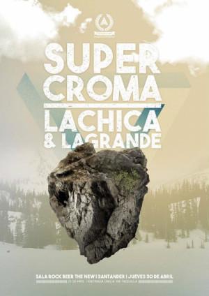 Super Croma y La Chica&La Grande son otra propuesta de la sala Rock Beer The New.