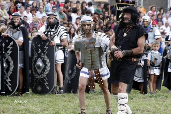 Celebración de las Guerras Cántabras en Los Corrales de Buelna