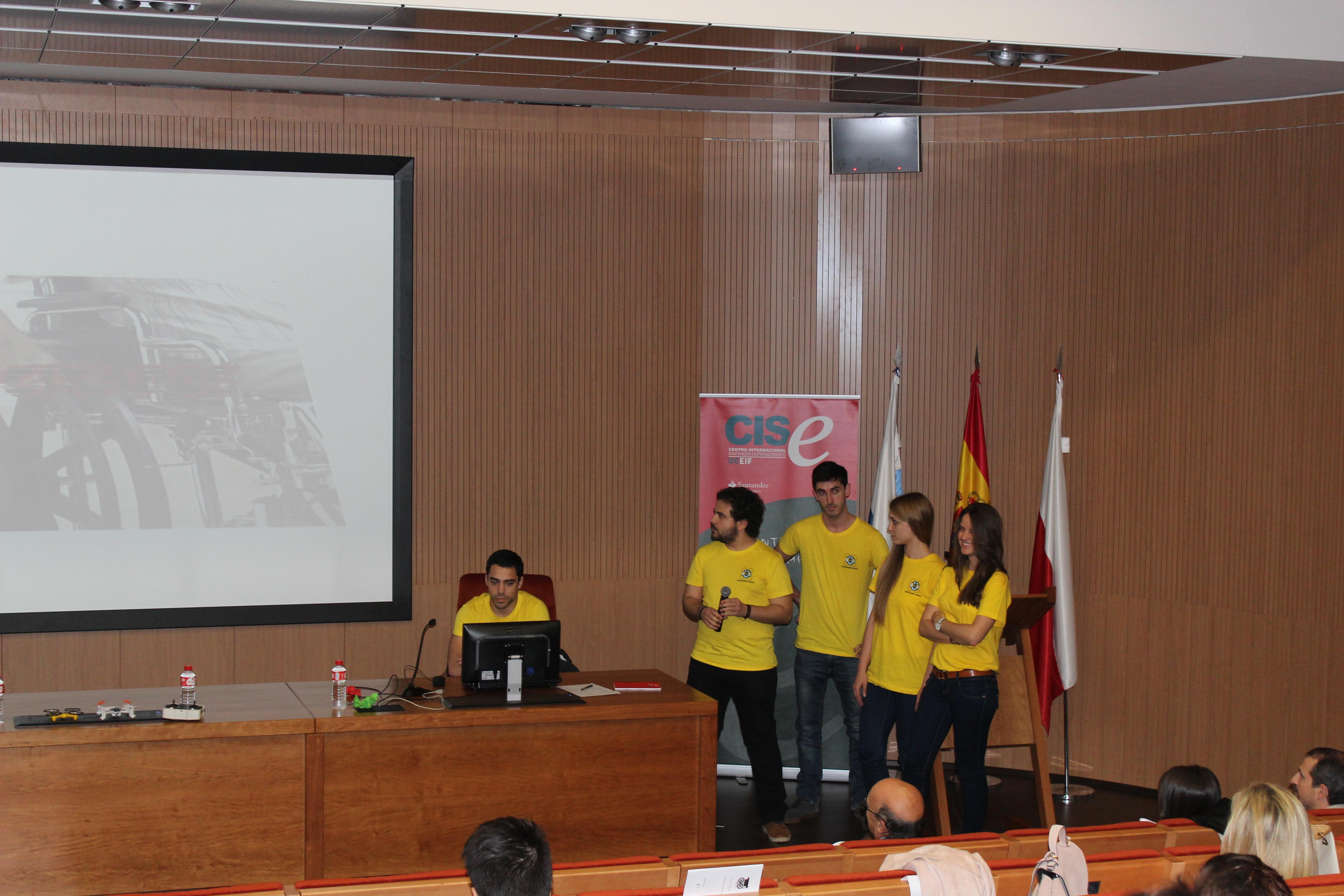 Uno de los proyectos participantes