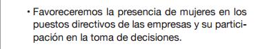 Esto es del programa electoral del PP, el partido que recurrió la Ley de Igualdad de Zapatero (pag 79)