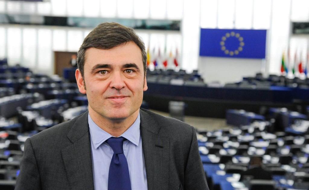 Ricardo Cortés en el Parlamento europeo