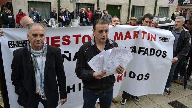 Trabajadores de Nestor Martin
