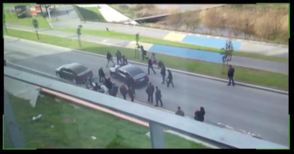 Secuencia del vídeo del escrache