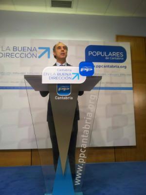 Ignacio Diego durante la rueda de prensa tras la Junta Ejecutiva.