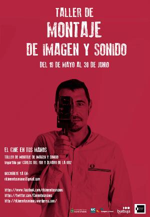 Poster del curso de Montaje de Imagen y Sonido.