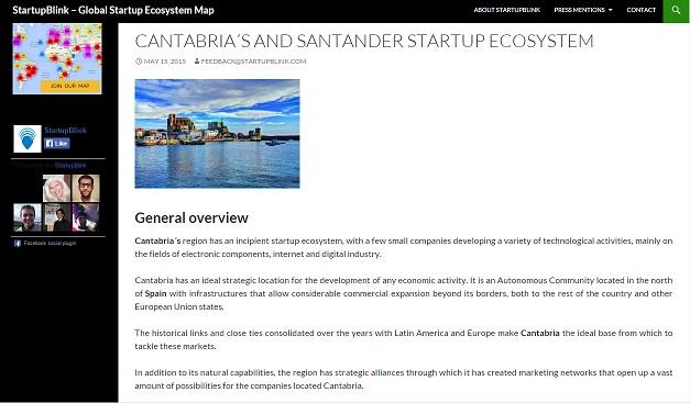 Primera entrada al blog como embajadores de Cantabria.