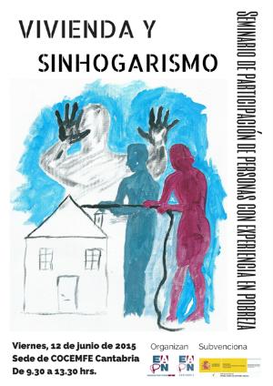 Cartel del seminario que acogeré COCEMFE Cantabria este viernes.