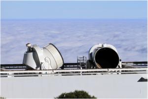 Telescopios en los que ha colaborado el IFCA