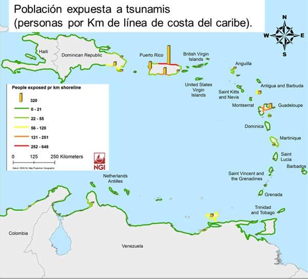 Trabajo de IH en materia de tsunamis