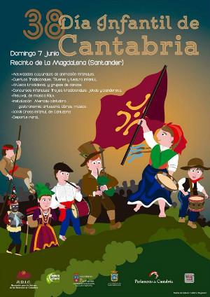 El domingo es el Día Infantil de Cantabria y las actividades estarán dirigidas a los más pequeños.