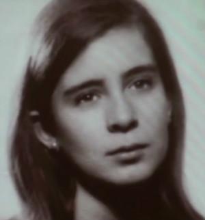 Lola González de joven.