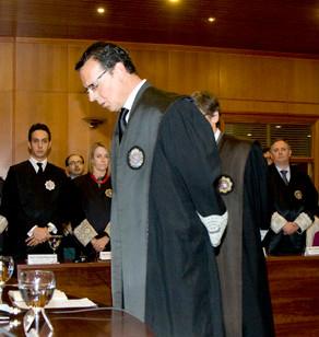 José Ignacio Tejido en su toma de posesión
