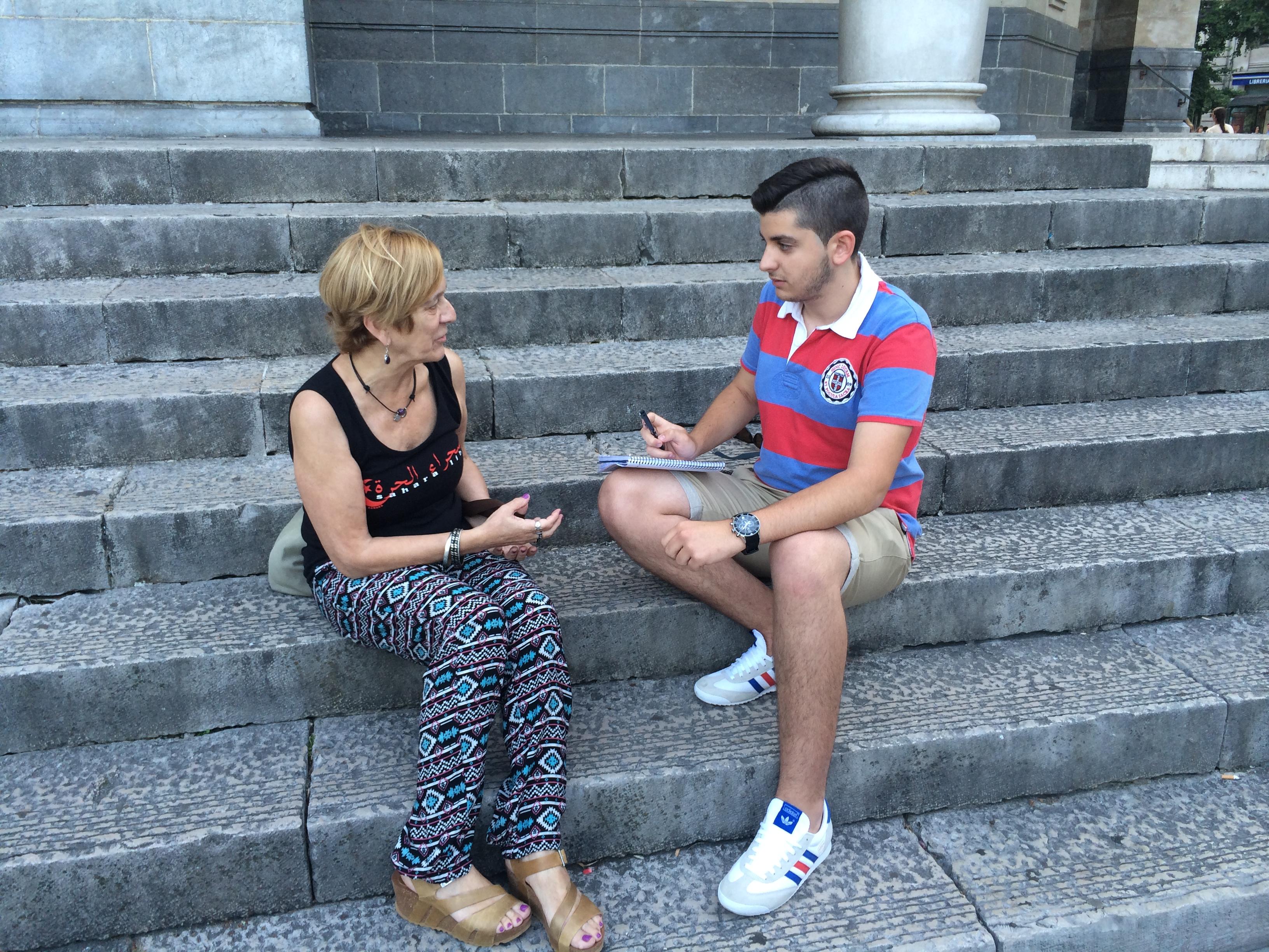 Entrevista de Maite Lorenzo para 'El Faradio'
