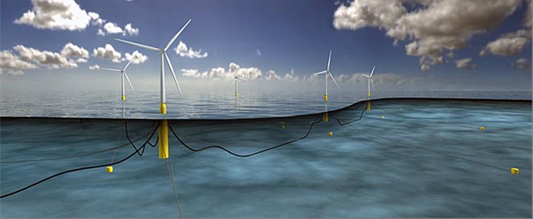 Navantia construye plataformas para energía eólica marina