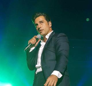 David Bustamante protagonizó el Concierto Solidario de Música en Grande