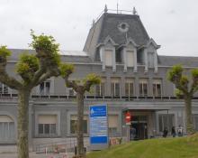 Imagen del hospital Santa Clotilde.|| Foto: HSJD
