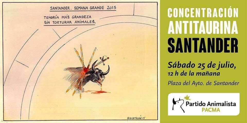 Cartel de la convocatoria de la concentración del sábado 25.