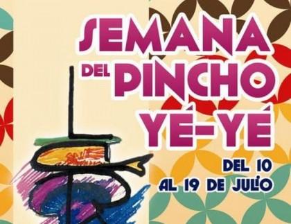 Cartel de la semana del pincho YE-YE en Laredo