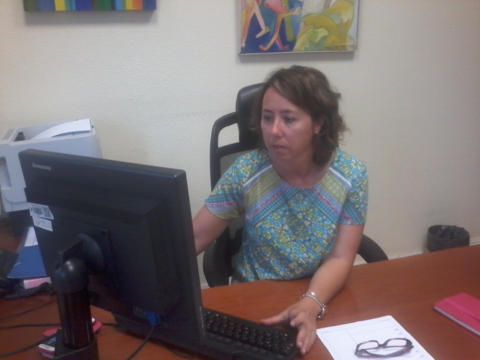 Alicia Renedo, directora general de la Mujer
