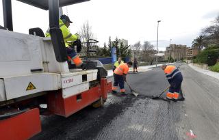 Pruebas para el asfalto ecológico en la Avenida del Faro