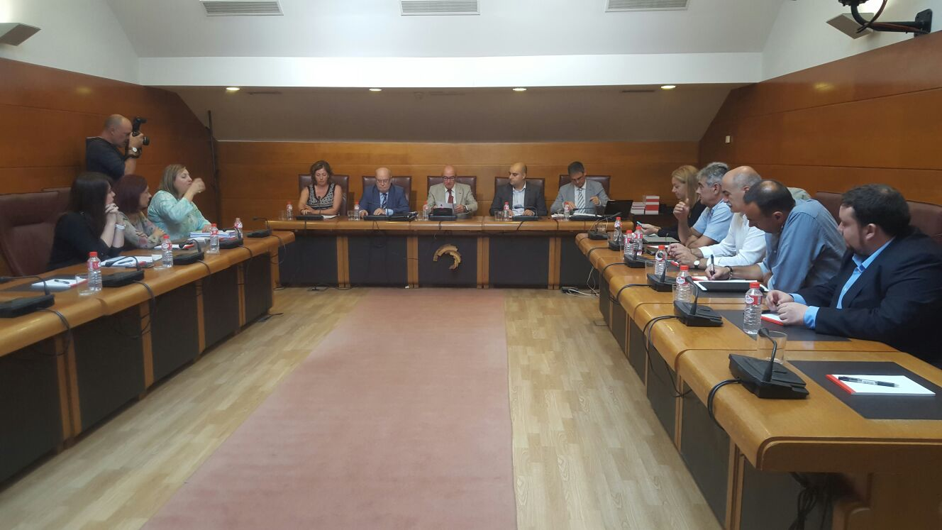 Sota comparece en el Parlamento de Cantabria