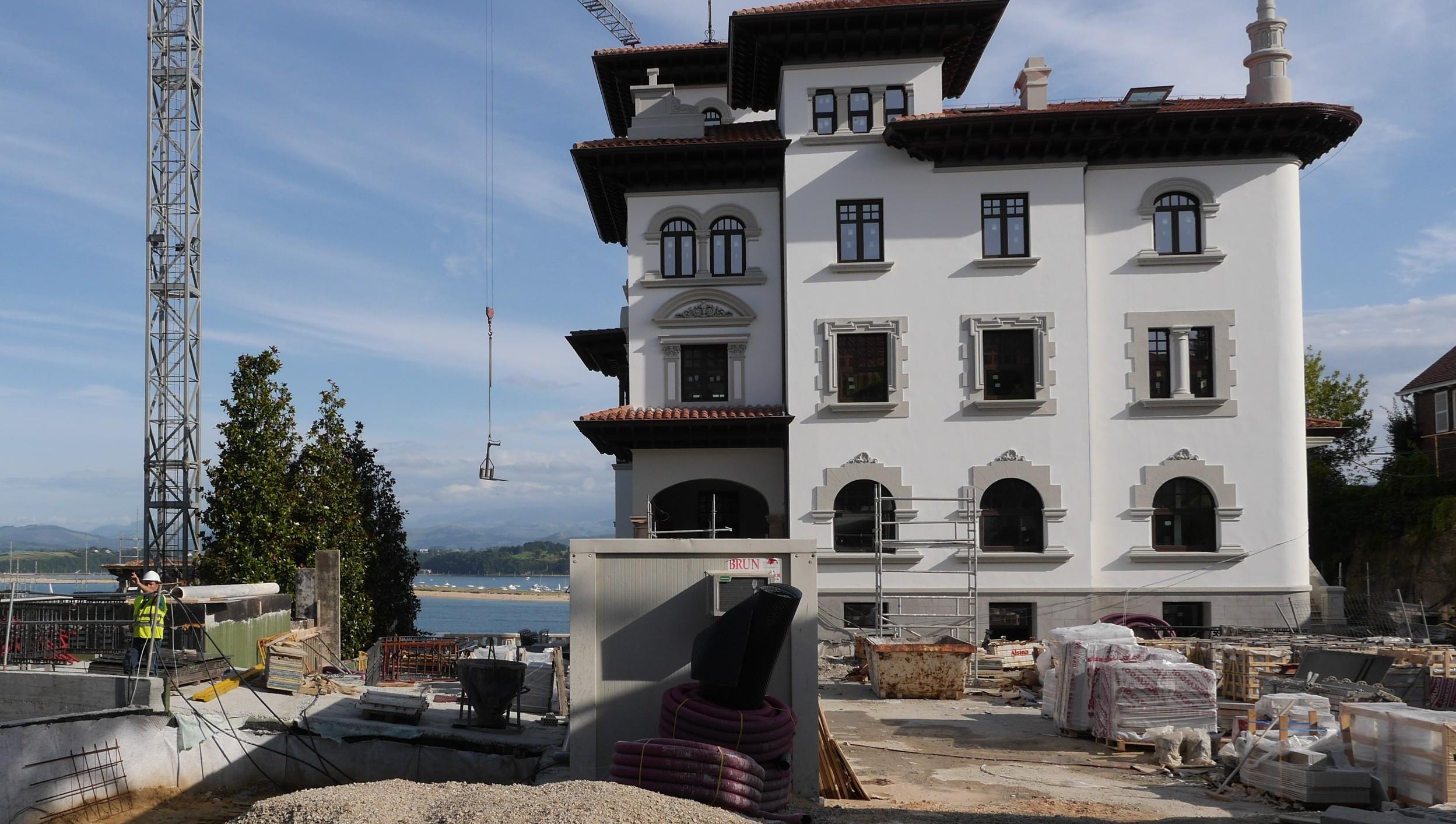 Obras en Villa Aragón