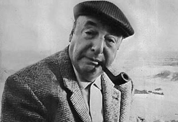 El poeta chileno, Pablo Neruda.