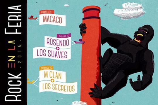 Cartel del festival 'Rock en la Feria'
