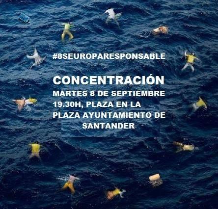 Esta tarde, concentración en el Ayuntamiento, en apoyo a los refugiados