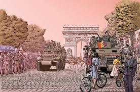 El trabajo de Libros.com profundiza en la liberación de París por los republicanos que dibujó Paco Roca en la aclamada 'Los surcos del azar'