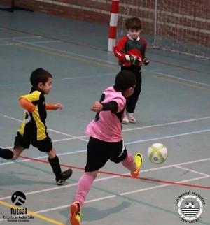 Los jugadores de Fútbol Sala de la Agrupación Deportiva del Barrio Pesquero.