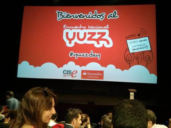 Encuentro del programa Yuzz