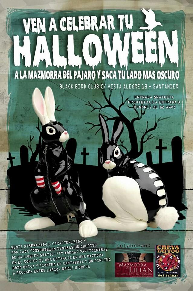 Los conejos 'sado-maso' del cartel de BlackBird tienen un por qué algo inquietante.