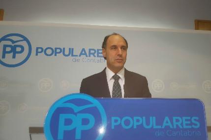 Nacho Diego considera que las reivindicaciones de Revilla las han cumplido ya los dos gobiernos del PP.
