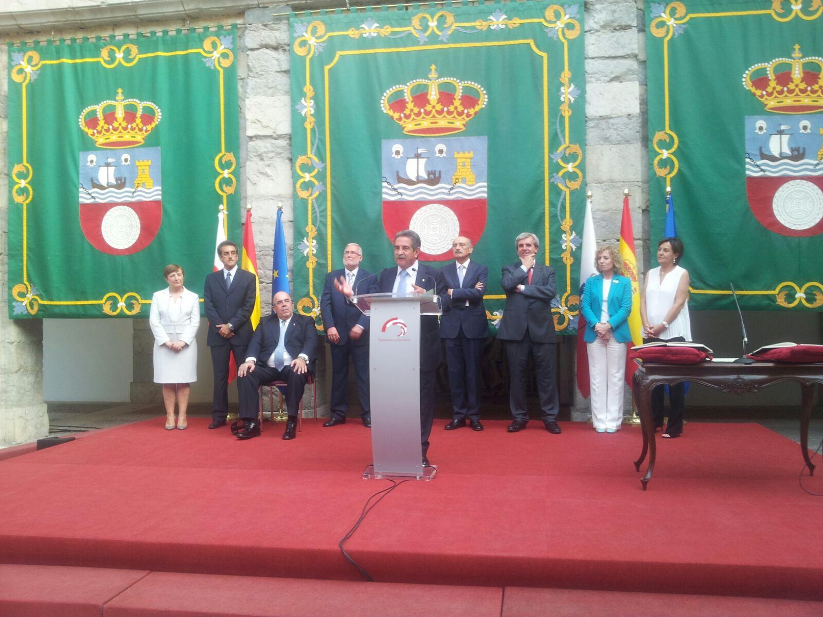Presentación del Gobierno de Cantabria