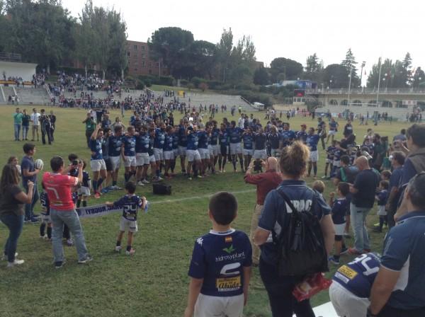 VRAC, campeón por quinta vez de la Supercopa de España de Rugby