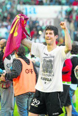 un jovencísimo Moratón en sus tiempos en el Atlético Benidorm