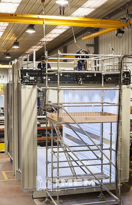 La nueva unidad para ascensores de gran tamaño de IMEM