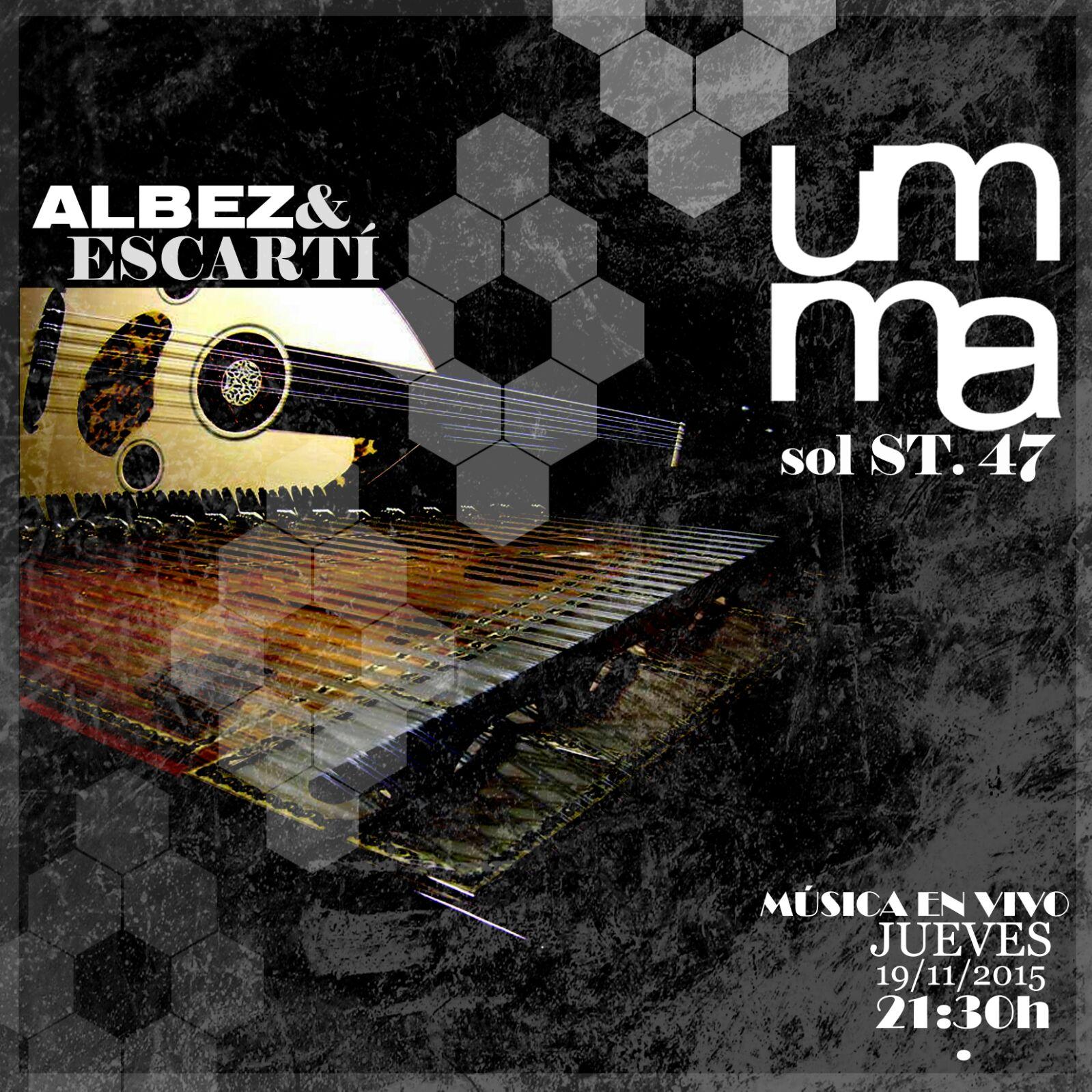 Albez & Escartí en el restaurante UMMA.