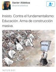 contra el fundamentalismo educacion